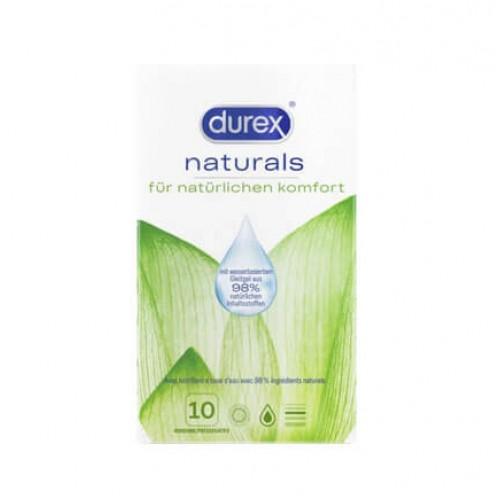 DUREX Naturals Präservativ 10 Stk
