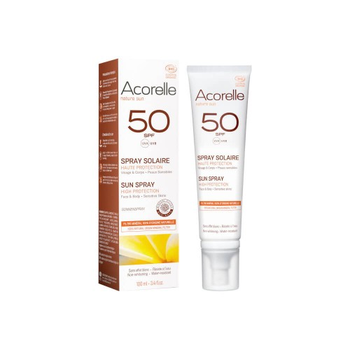 ACORELLE Sonnenspray LSF50 100 ml