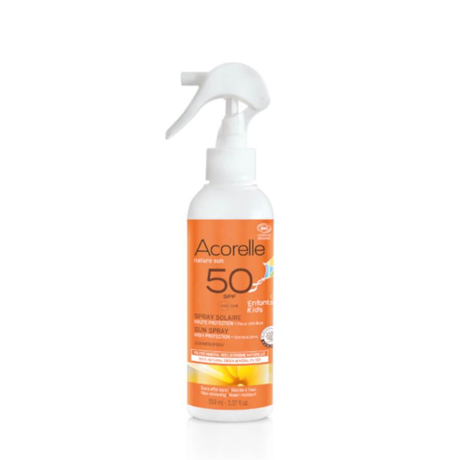 ACORELLE Sonnenspray Kinder LSF50 150 ml