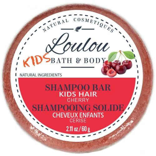 LOULOU HAIR Shampoo Bar Kids Cherry 60 ml