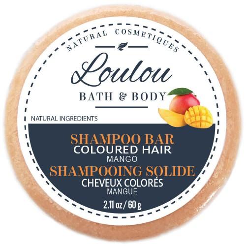 LOULOU HAIR Shampoo Bar Coloured Hair 60 ml