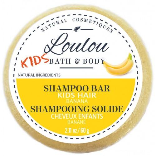 LOULOU HAIR Shampoo Bar Kids Banana 60 ml