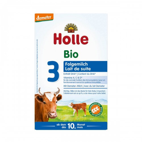 HOLLE Bio-Folgemilch 3 (neu) 600 g