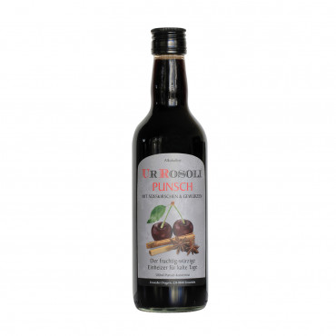 Rosoli Punsch o.Alkohol 500ml