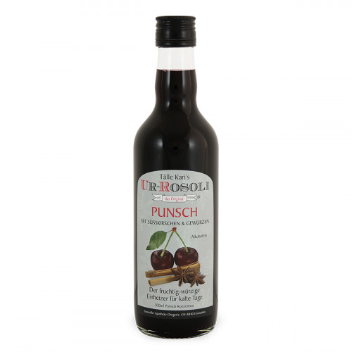 UR- Rosoli Punsch-Konzentrat  alkoholfrei 500ml