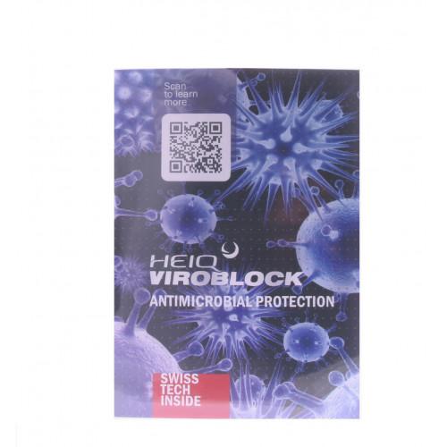 Hygienemasken Viroblock FFP2 mit Silber, blau 4 Lagig