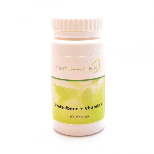Nt Preiselbeer & Vitamin C Kapseln 100 Stk. Haspe